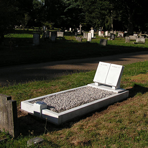 Cleaned and Restored grave
