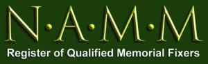 NAMM Register of qualified memorial fixers